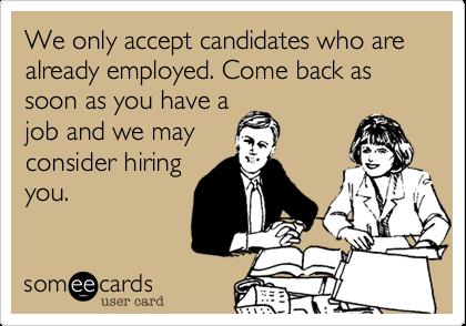 hiring the employed