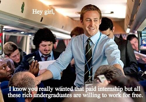 stages vacatures ryan gosling