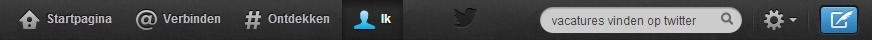 vacatures vinden op twitter