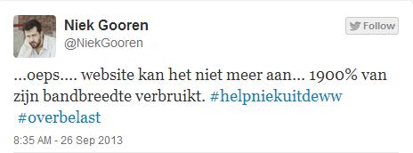 Help Niek uit de WW website Niek Gooren