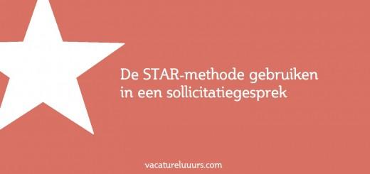 sollicitatie star De STAR methode gebruiken in een sollicitatiegesprek sollicitatie star