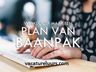 Plan van Baanpak - meer structuur in je zoekt-werkweek!