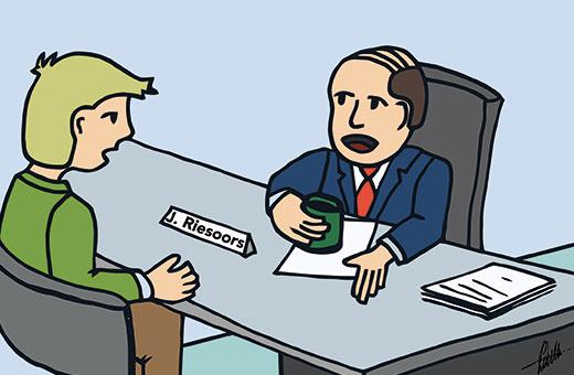 Eerlijkheid in een sollicitatiegesprek
